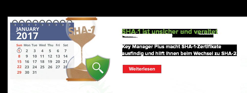 SHA-1 est précaire et obsolète